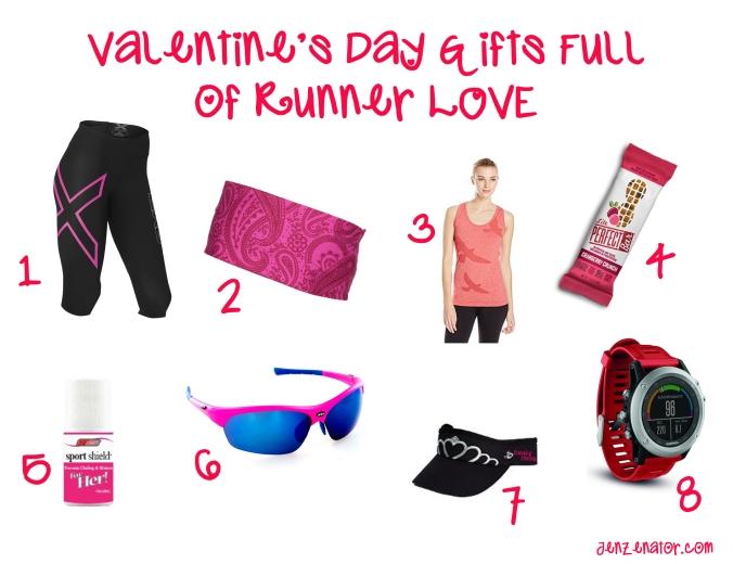 Valentine's Day runner gifts